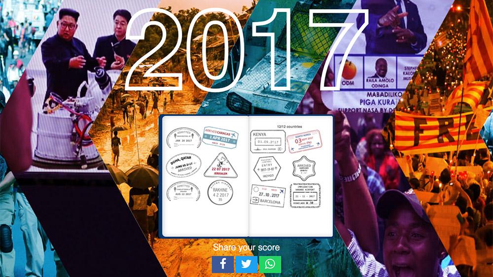 interactive.aljazeera.com: 2017 Al Jazeera news quiz