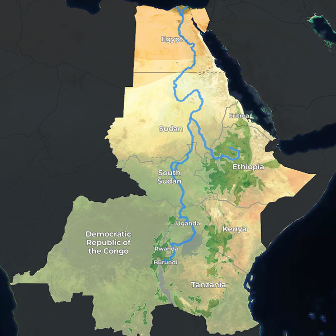 Could mega-dams kill the mighty River Nile? (an interactive report ...
